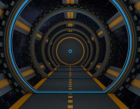 fantasy 3D Sci Fi Tunnel