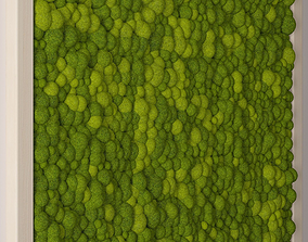 Seamless moss 3D model