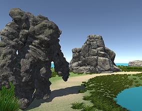 Ancient Earth Golem V2 3D asset