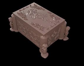 3D print model Casket with relief