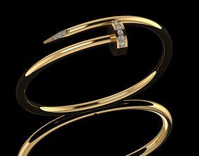 3D printable model catier bracelet