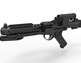 3D Stormtrooper Blaster E-11 from the movie Star Wars