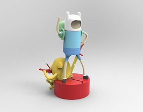 Finn and Jake 3D printable model