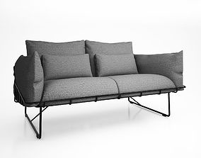 3D model Picnic Sofa by Industrial Facility