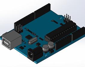 3D asset Arduino Uno Rev3