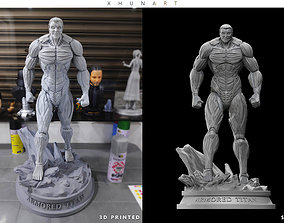 Armored Titan for 3D print 3d