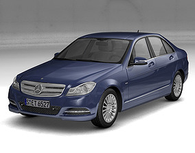 2012 Mercedes Benz C Class 3D model