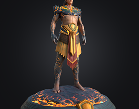 SonTinh - God of The Mountains 3D model