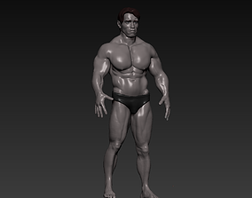 Arnold Schwarzenegger 1991 Arrival version 3D model