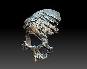 silver Skull Pendant 3D print model