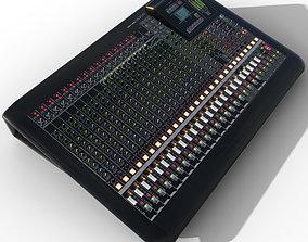 Yamaha MGP 24 professional analog mixing console 3D