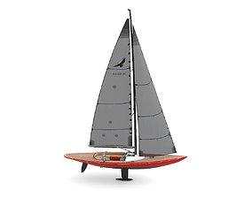 3D Leonardo yachts Eagle 44 RED