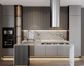 3D Kitchen Modern 17