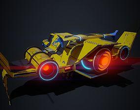 3D asset Spaceship 02