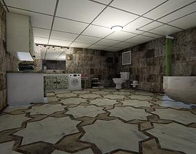 bath Bathroom 3D animated