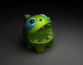 3D asset Om nom