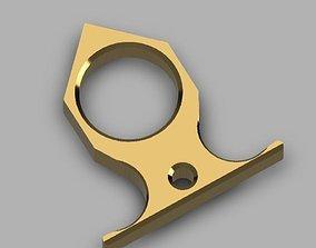 3D print model Brass knuckle Paper-weight