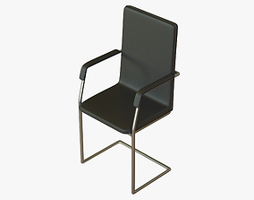 Meeting Room Chair Office 3D asset