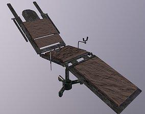 Hospital Stretcher Game Ready Low - Poly 3D VR / AR ready