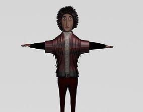 3D asset anime character