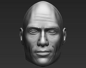 3D model Dwayne The Rock Johnson standard version only