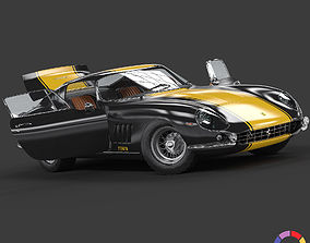 1967 Ferrari 275 GTB - PREMIUM 3D model
