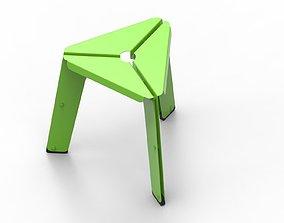 3D model Sheet metal STOOL