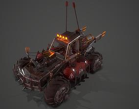 3D asset Battle Buggy Car 02