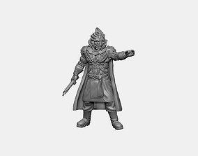 Orbalisk Knight scifi 3D print model