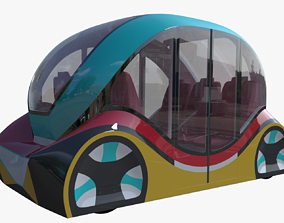 3D model Smart minibus IV vehicle
