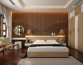 rest 3D Bedroom tropical
