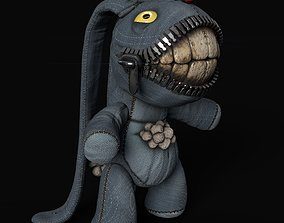Animated Game-Ready Character - Creepy Bunny 3D asset