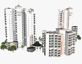 Bel Air Resort 3D model