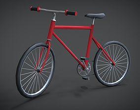 Modern Bicycle 3D model