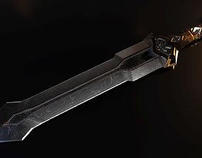 3D model Deathless Sword