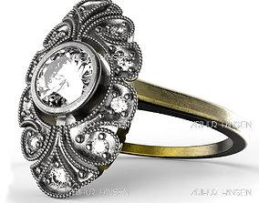 Antique Ring 3D print model