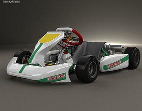 3D model Tony Kart Rocky EXP 2014
