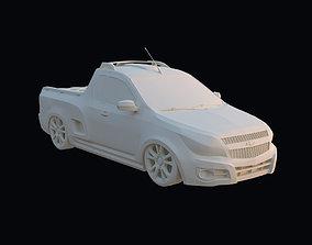 Chevrolet Montana 3D print model