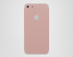 3D asset iPhone 8 - Rose Gold