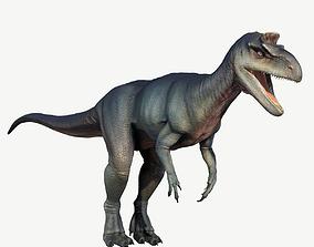 Cryolophosaurus 3D model