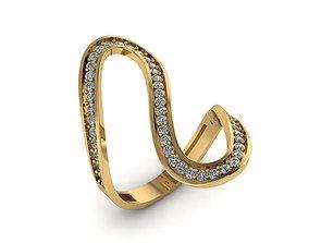3D print model women rings 005rg