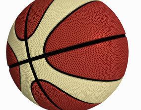 Basket Ball - Molten style 3D model