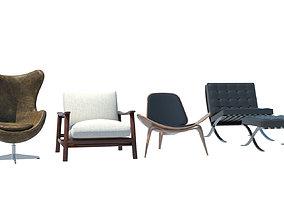 3D arm chair