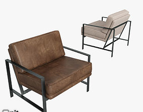 3D Metal Frame Chair by West Elm