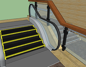 3D model World Shortest Escalator