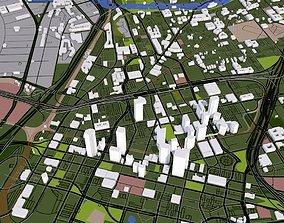 3D model Dallas City USA