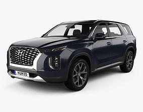 3D Hyundai Palisade 2020