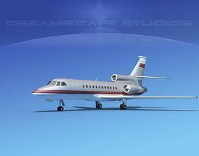 Dassault Falcon 900 V04 3D