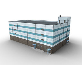 Car Parking Building 4 3D model