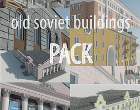 Soviet Russia houses 3D